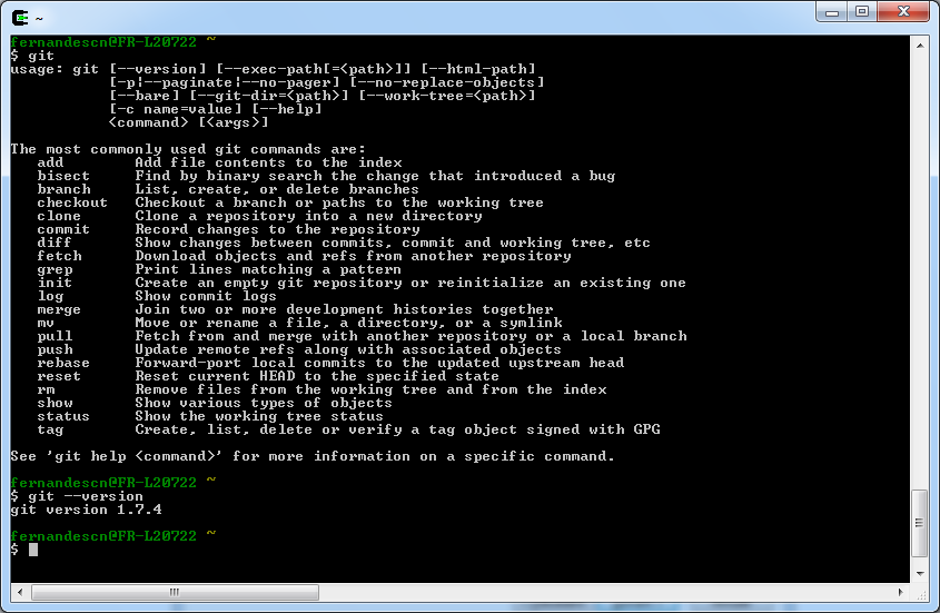 Installing Git on Cygwin – Celinio's technical blog